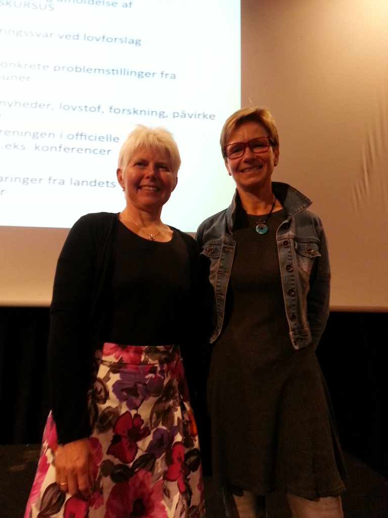 Vibeke og Anne Dorthe i Norge